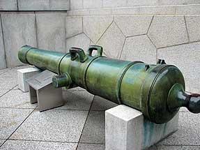 青銅八十封度(ポンド)陸用加農砲