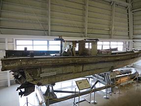 北朝鮮工作船・収納されていた小舟