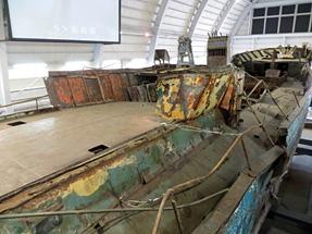 北朝鮮工作船・前部