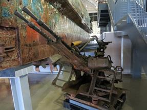 北朝鮮工作船・二連装機銃