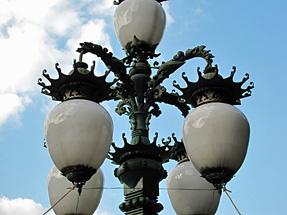 二重橋飾電燈