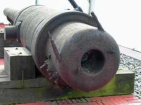 ナヒーモフの主砲