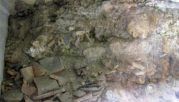 被爆当時の地層