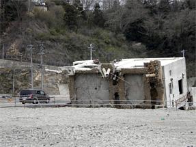 女川の津波被害