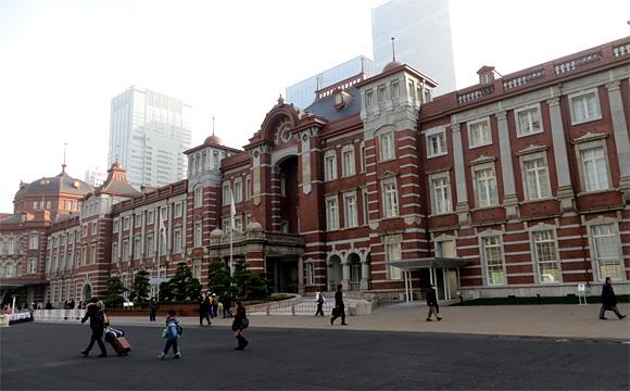 東京駅の赤レンガ駅舎