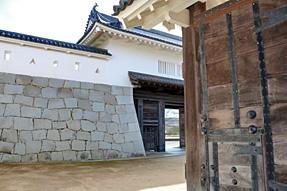赤穂城跡本丸門