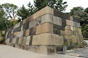 江戸城・中之門跡