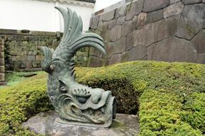 江戸城・旧大手門渡櫓の鯱
