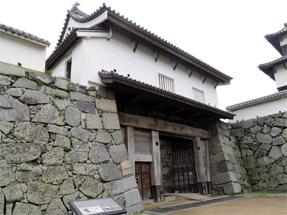 福岡城・下之橋御門