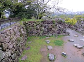 福岡城・天守台跡