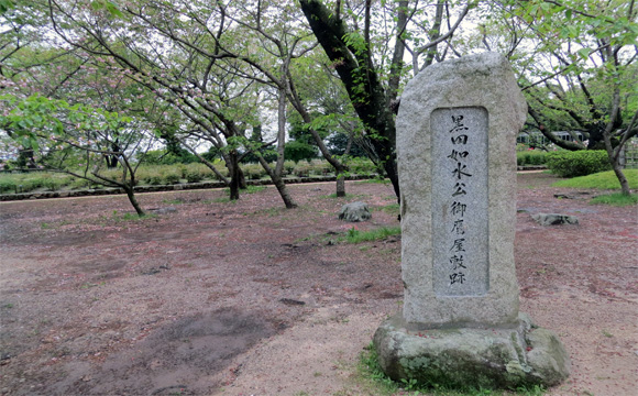福岡城・黒田如水隠居地
