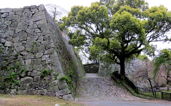 福岡城・石垣