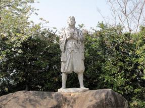 原城跡・天草四郎の像