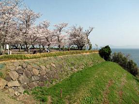 原城跡・櫓台石垣