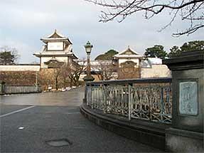 金沢城・石川橋