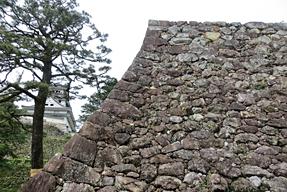 高知城・三ノ丸石垣