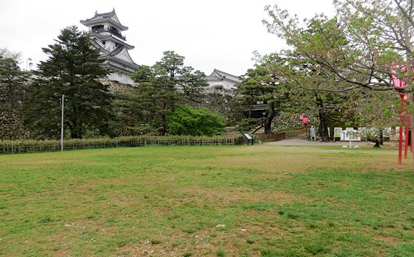高知城・三ノ丸