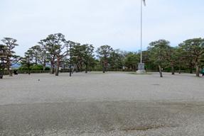 高知城・二ノ丸