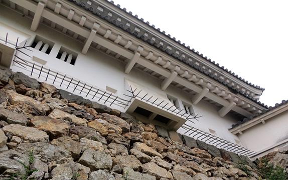 高知城・石落とし