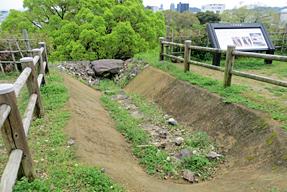 高知城・水路遺構
