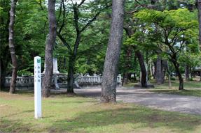 久保田城・本丸跡
