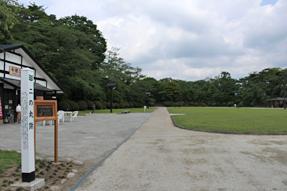 久保田城・二の丸跡