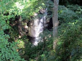 長篠城・不忍の滝
