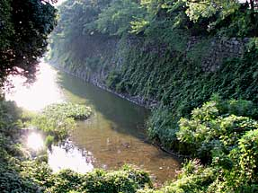 名古屋城・鵜の首