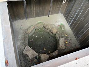 岡崎城二の丸御殿の井戸
