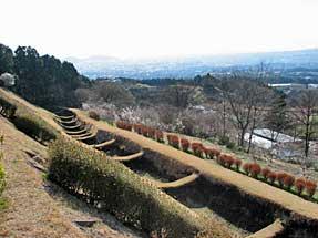 山中城跡・岱崎出丸「一の堀」