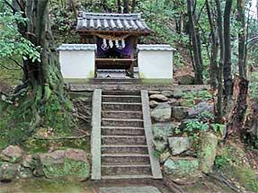 湯築城跡・岩崎神社