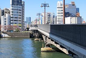 両国橋と隅田川