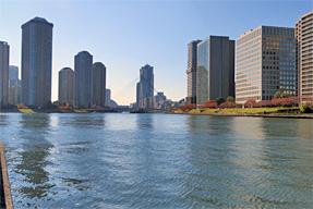 現在の隅田川