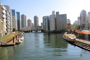 高橋・亀島川