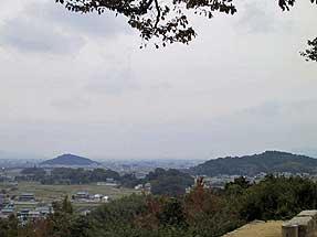 甘樫丘からの景観