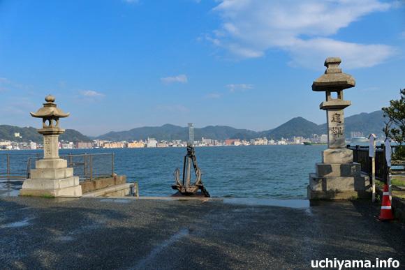 朝鮮通信使上陸淹留之地