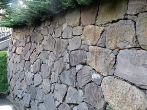 江戸城外堀跡石垣
