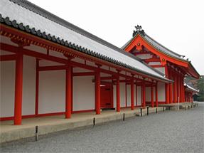 京都御所・回廊