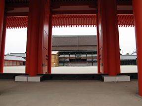 京都御所・承明門