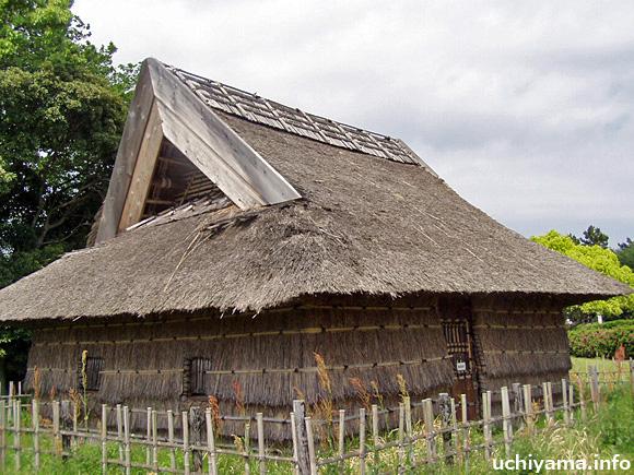 伊場遺跡・古墳時代の復元住居