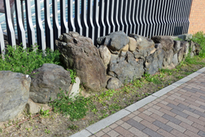 相国寺水路の石垣