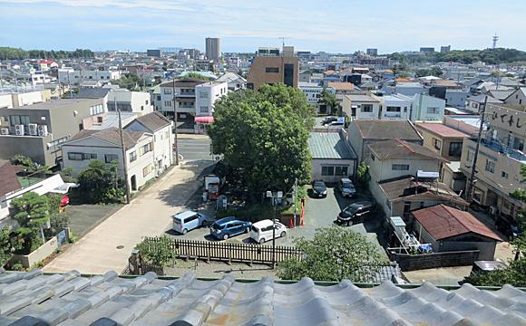 旧見付学校・最上階からの眺望