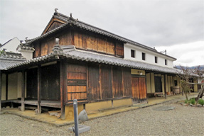 旧永井家 庄屋屋敷・藍の寝床
