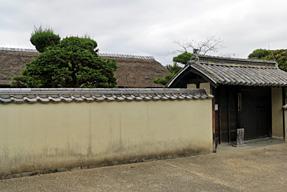旧永井家 庄屋屋敷・表門(南門)