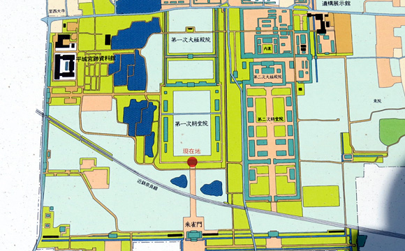 平城宮位置図