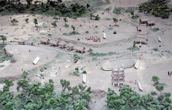 三内丸山遺跡・模型