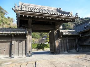 仙巌園・正門