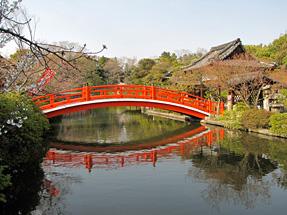 神泉苑・法成橋