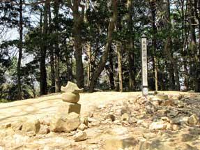 天王山・山頂