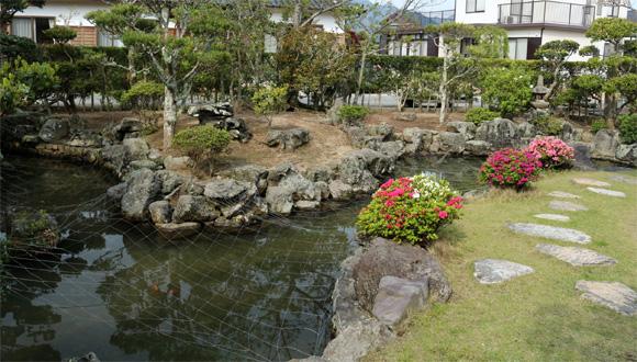 桂太郎旧宅・池泉庭園